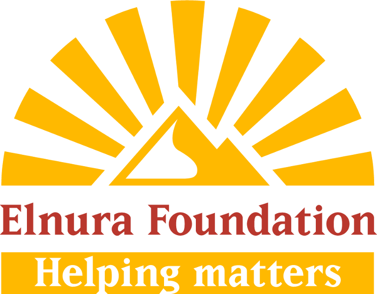 Elnura Foundation Helping matters logo RGB big